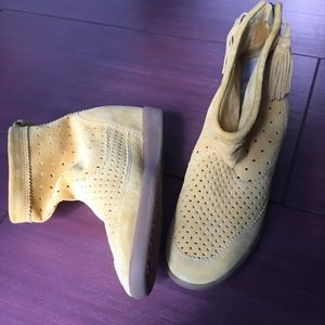 Isabel Marant perforated suede ankle boots